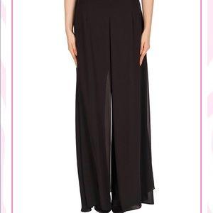 Joseph Ribkoff Black Tango Pants w Skirt 2XL